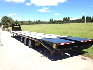 Gooseneck Equipment Trailer |  NEW GOOSENECK 30000#, 30K EQUIPMENT TRAILER FOR SALE