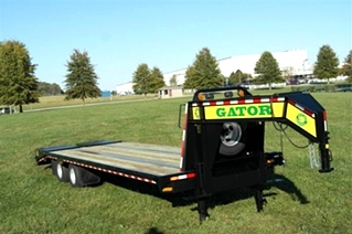 GOOSENECK TRAILER 30ft tandem dual - all heavy-duty equipment trailers special priced