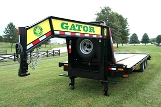 Gooseneck trailer for sale  24.9k tandem dual