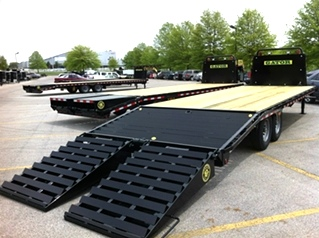 EQUIPMENT GOOSENECK EQUIPMENT TRAILER 16K Gvwr 20ft