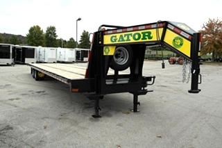 40' FLATBED GOOSENECK TRAILER FOR SALE