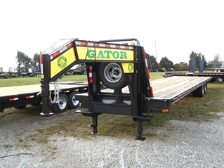 GOOSENECK HOT SHOT  TRAILER | 30K GOOSENECK FREIGHT TRAILER