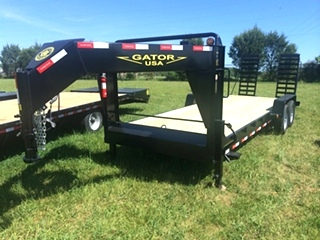 Gooseneck Trailer Low-Profile